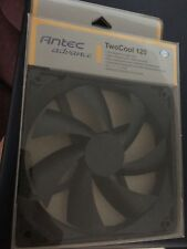 Antec TwoCool120 Case Fan  120mm 1200 RPM  3-Pin/4-Pin Sleeve Max Flow 42.6 CFM
