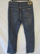 Levi's Cotton Blnd Low Rise Bootcut Misses Size 4 Short Dark Rinse Jeans