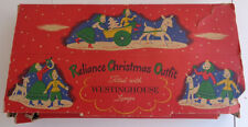 Vintage Reliance Christmas Outfit Westinghouse Christmas Tree Lights