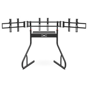 Extreme Sim Racing Triple Screen Tv Stand Add-on Upgrade With Back Tray