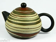 Exquisite Chinese Yixing Zisha Pottery Teapot,Twisted Clays,Handicraft,150 CC