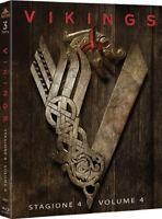 Vikings - Stagione 4 - Parte 1 - Cofanetto Con 3 Blu Ray - Nuovo Sigillato