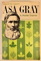 Asa Gray A. Hunter Dupree Botany Plant Geography Science History America 1968