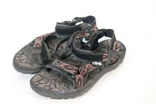 Teva hiking sandals size 7 black red aztec water shoes