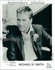 Michael W. Smith IQ Reunion Records Original Press Photo