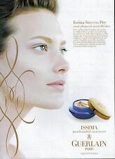 1998 GUERLAIN PARIS for ISSIMA  : SHALOM HARLOW Magazine  Print  AD