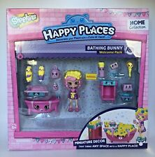 Shopkins Happy Places Home Collection Bathing Bunny Welcome Pack Bubbleisha