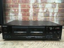 Vintage Sony TC-WR445 Stereo Twin Double Cassette Deck Tape DC Servo Controlled