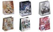 24 mittel Geschenktüten Weihnachten Weihnachtstüten Geschenktaschen MIX 65555 AM