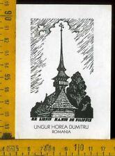 Ex Libris Mario De Filippis c 481  Ungur Horea Dumitru Romania
