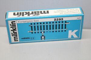 Märklin 2295 Contact Track Set K Track Gauge H0 Boxed