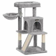 New listing Feandrea 56.3-Inch Multi-Level Cat Tree with Sisal-Covered Scratching Posts P.
