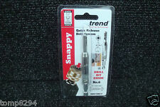 TREND SNAPPY HINGE FITTING DRILL BIT GUIDE No6 SNAP/DBG/5