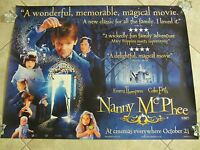NANNY McPHEE movie poster COLIN FIRTH, EMMA THOMPSON uk quad movie poster