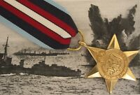 WW2 British ARCTIC STAR Medal - Full Size British Made - Arctic Convoy Award