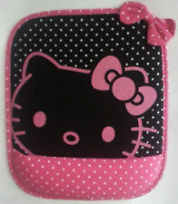 Cute Black and Pink Hello Kitty Laptop- Computer Mouse Pad with Wrist Rest