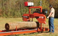 Wood-Mizer LT15 Portable Sawmill Bandsaw - 25HP