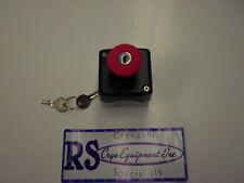 Emergency stop pushbutton keyed XAL-K184 USA SHIPPER Free Shipping