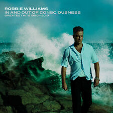 ROBBIE WILLIAMS (IN & OUT OF CONSCIOUNESS-GREATEST HITS 2CD SET NEW + FREEPOST)