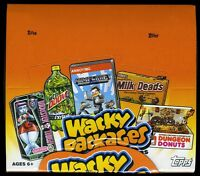 LOT of (3) 2013 Topps Wacky Packages Series 10 Factory Sealed Box - 24 packs
