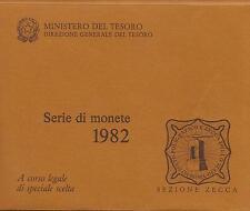 ITALIA REPUBBLICA 1982 DIVISIONALE SERIE ZECCA FDC
