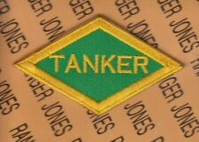 """US ARMY WWII TANKER style diamond 3.75"""" patch"""