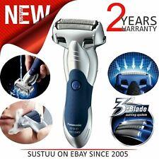 Panasonic Men's Electric Smart Shaver|3 Blade|Wet/Dry|Cordless||Silver|ESSL41S