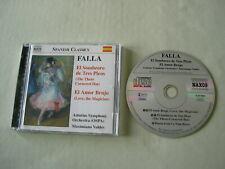 FALLA El Sombrero de Tres Picos/El Amor Brujo Valdes CD album