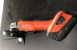 Hilti ag 125-a22 grinder inc battery