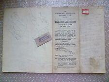 SUNDERLAND FC Ltd Annual Accounts & Directors Reports Y/E 1951, 5th May- RARE***