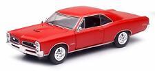 1966 Pontiac Gto Red, NewRay Car Model 1:25