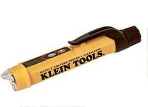 Klein Tools NCVT-3 Non-Contact Voltage Tester Waterproof with Flashlight
