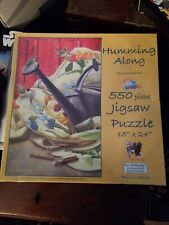 Humming along by Doug Knutson made in USA 550 piece puzzle Sunsout inc