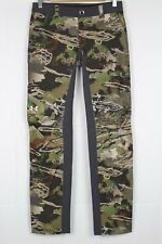 New Under Armour Women's Early Season Field Hunting Pants 4 Forest Camo 940