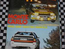 revue ECHAPPEMENT 1981 RALLYE MONTE CARLO / AUDI QUATTRO SERIE + GR.4