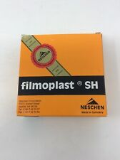 Vintage Neschen Filmoplast Sh Repair 25 M x 3 Cm pH 8.7/8,4 Germany