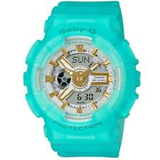 Casio G-Shock Baby-G BA110SC-2A Analog-Digital Semi-Transparent Aqua Blue Watch