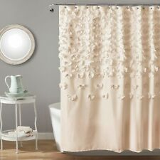 Lucia Ivory Shower Curtain 72x72