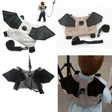 Baby Kids Toddler Bat Walking Safety Harness Rein Backpack Walker Buddy Strap