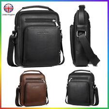 Men Chest Bag Pack Travel Sport Shoulder Sling Handbags Business trip Leather UK