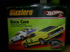 1970's 1980's ? hot wheels sizzler case with cars fresh never touched.