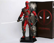 "Crazy Toys Marvel Legends Wave X-men Deadpool Wade Wilson Statue Figure 12"" Toys"