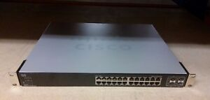 Cisco SGE2000 24-Port 10/100/1000 Gigabit Switch For Small Business