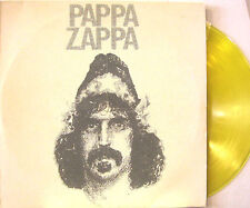 "FRANK ZAPPA ""PAPPA ZAPPA""  double lp yellow vinyl mint"