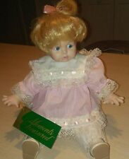 Moments Treasured Porcelain Doll Amy Pink Dress