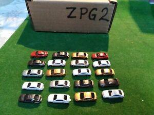 20 Pcs  Model Cars  model railway  Scenery detail  Layout Z Scale Z 1:220 (ZPG2)