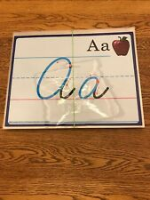 #40479 A Beka Book Cursive Formations Flash Cards (Laminated) Mint Condition
