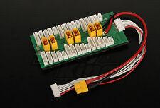 New HobbyKing Parallel Charging Board For 6 Packs 2S 6S XT60 Battery RC Imax