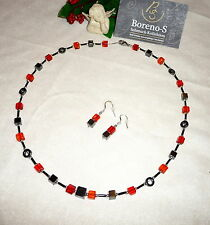 Halsketten aus Edelsteinen mit Hämatit für besondere Anlässe
