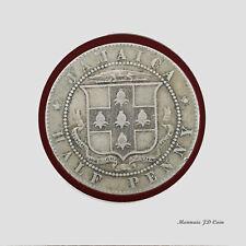 1920 Jamaica Half Penny Coin George V (BX38)